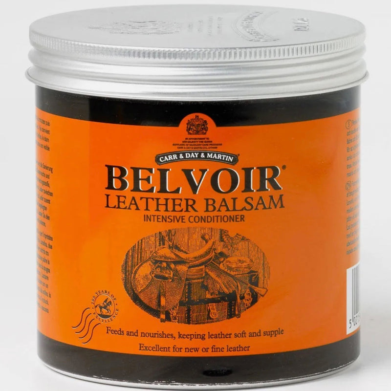 Photo of CDM Belvoir Tack Conditioner Leather Balsam 500ml Tin