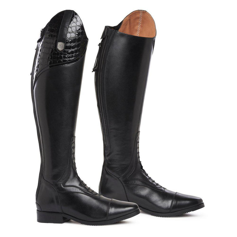 Mountain Horse Sovereign High Rider Lux | Black