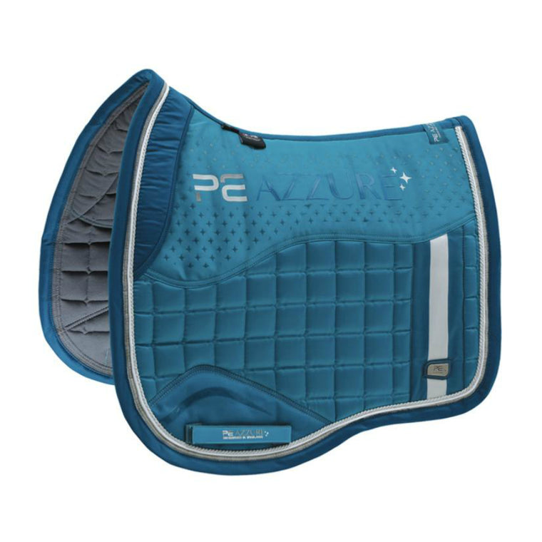 Premier Equine Azzue Satin Dressage Pad | Turquoise