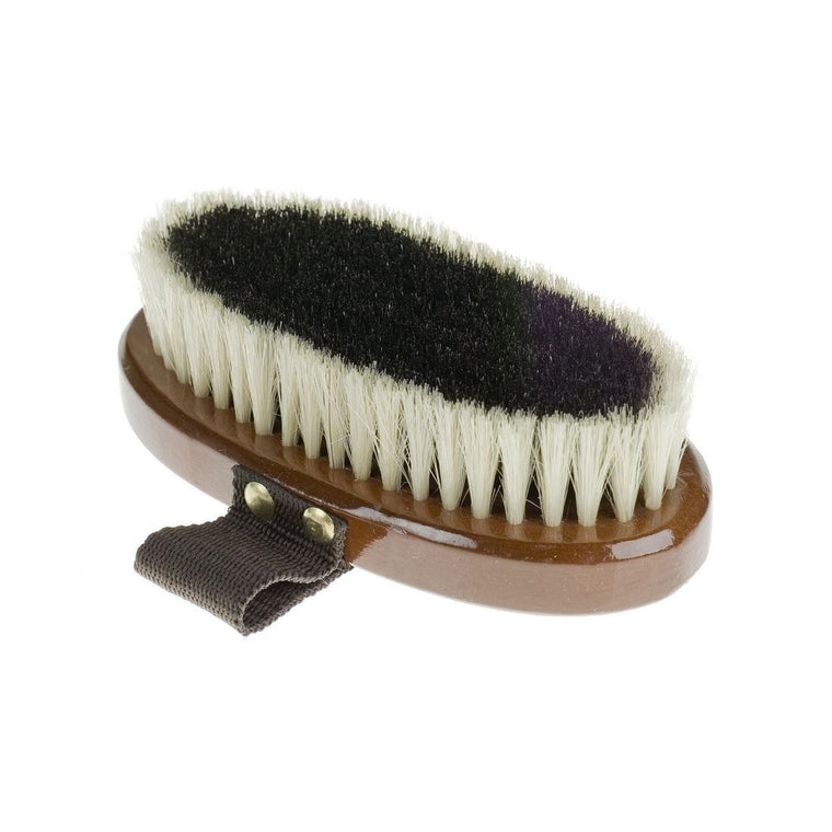 Photo of underside of Horze Small Natural Body Brush