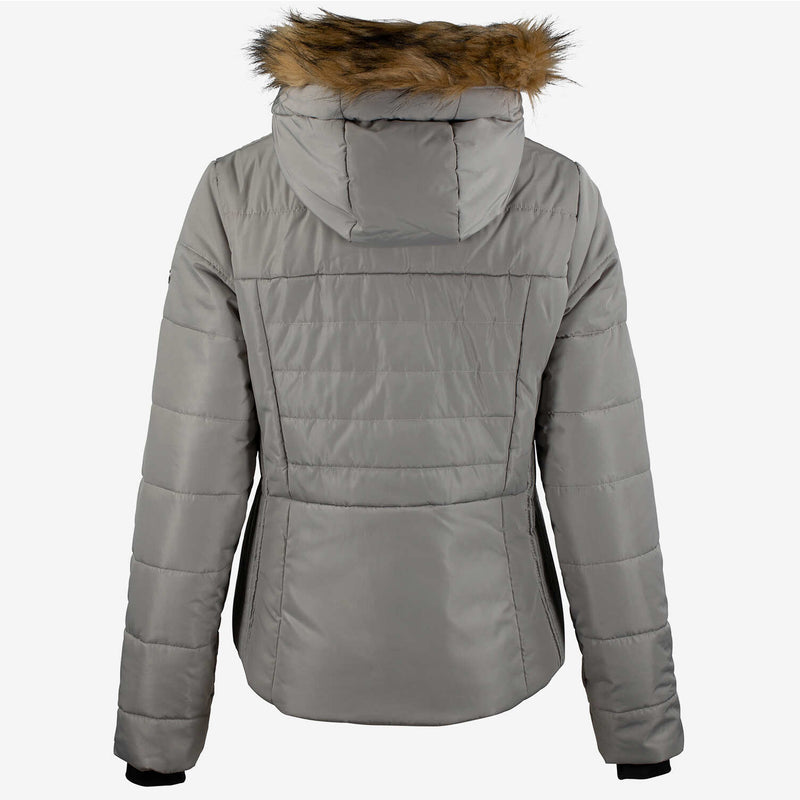 Horze Camilla Padded Jacket | Feather Light Brown