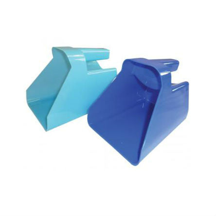 Photo of Feed Scoop with Grip in Blue