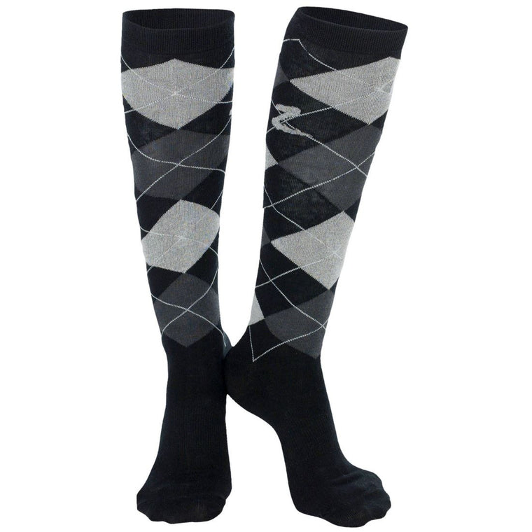 Horze Holly Knee Socks | Black