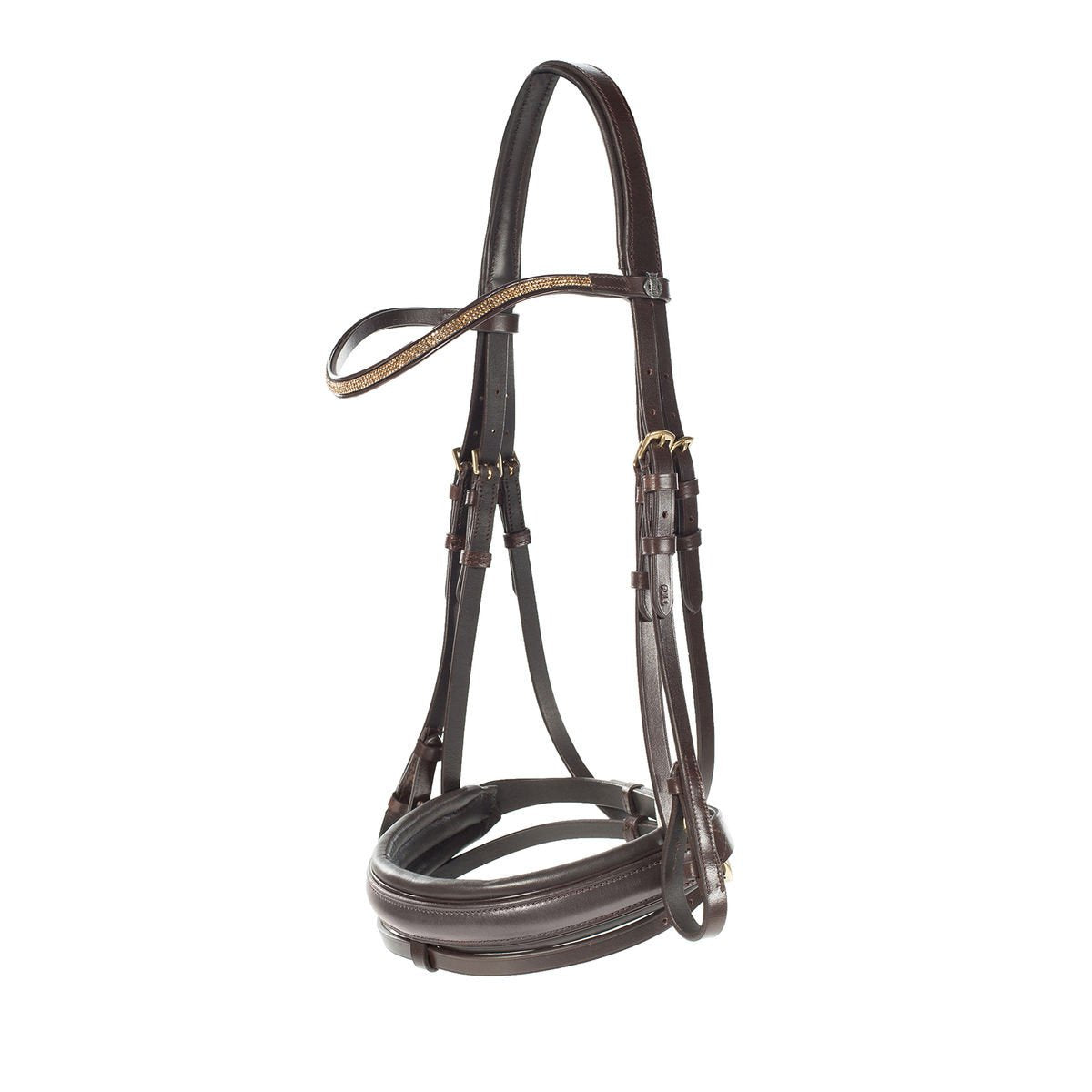 Photo of Horze Crescendo Lester Bridle in Brown