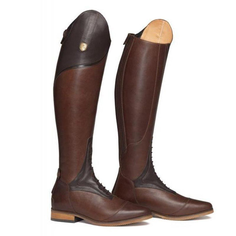 Mountain Horse Sovereign High Rider | Brown - Short/Wide