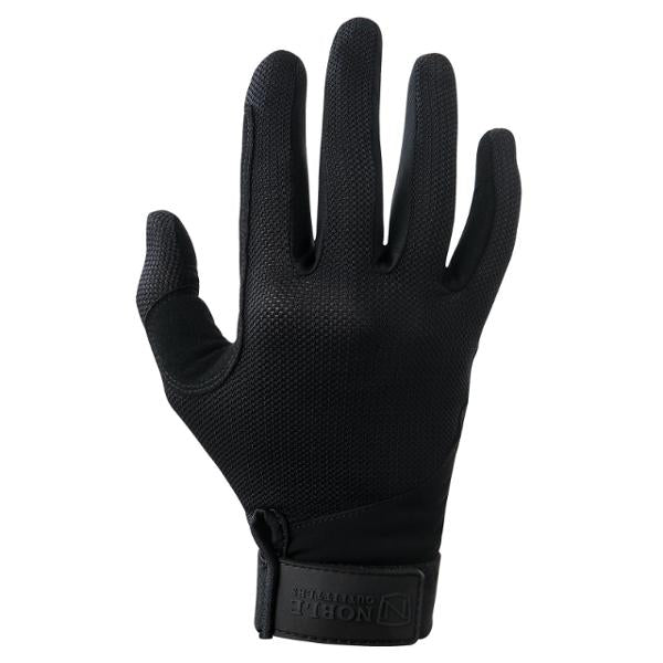 Photo of Noble Outfitters Perfect Fit Cool Mesh Riding Gloves in Black