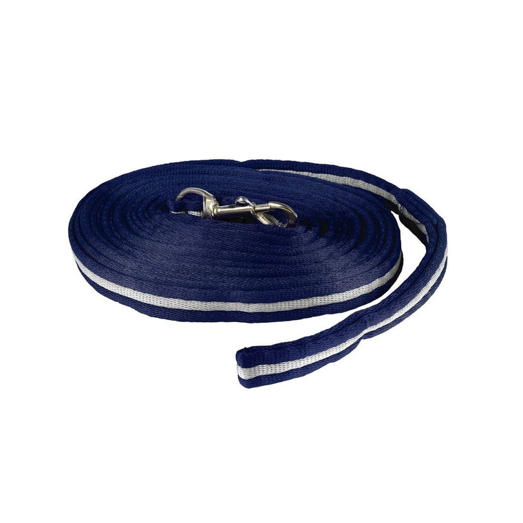 Photo of Horze Orbit Lunge Lunging Line Rope in Navy