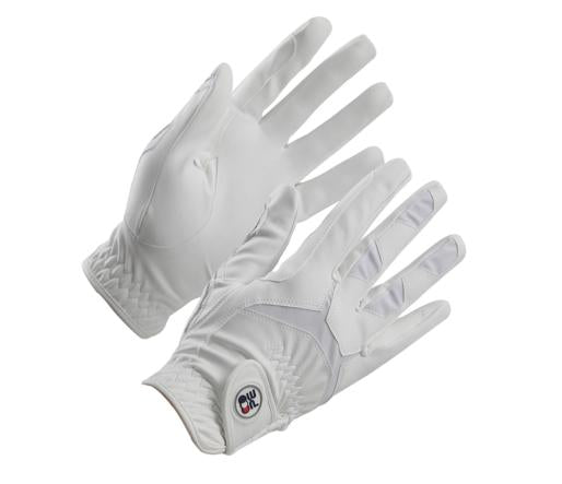 Photo of Premier Equine Ascot Riding Gloves in White