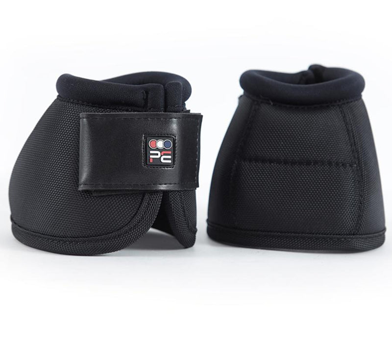 Premier Equine Ballistic No-Turn Over Reach Boots in Black