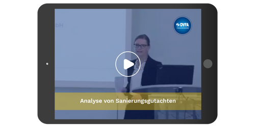 Analyse von Sanierungsgutachten**