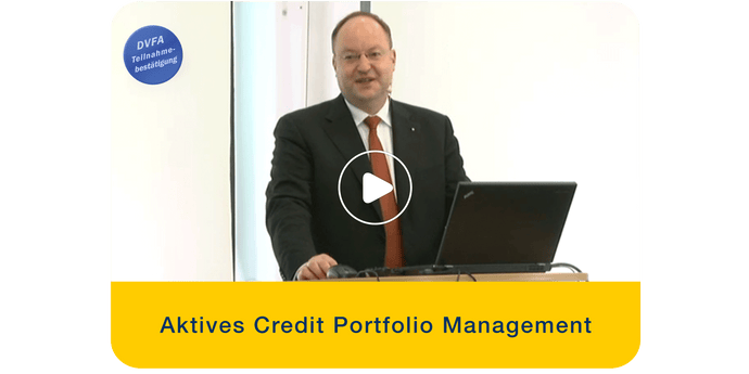 Christoph Klein, Aktives Credit Portfolio Management, CCrA