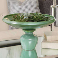 Chalice Compote-Green