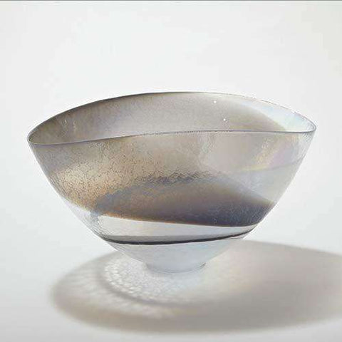 Moon Stone Oval Bowl-Lg