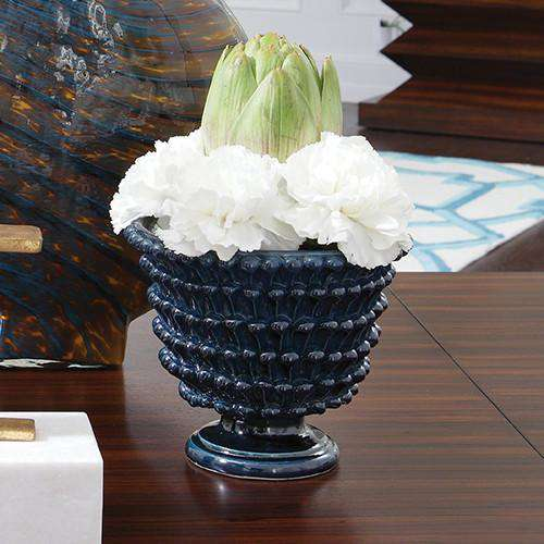 Buy Pinecone Cachepot-Cobalt Online at best prices in Riyadh