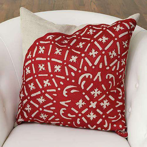 Crimson Punch Pillow