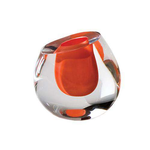 Color Drop Vase-Mandarin