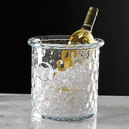 Honeycomb Ice Bucket/Cooler w/Rolled Edge