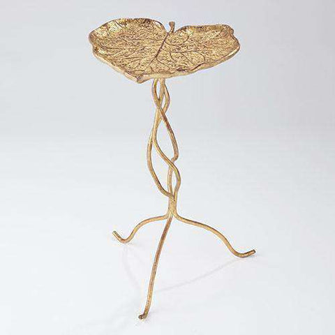 Buy Eden Accent Table-Gold Leaf Online at best prices in Riyadh