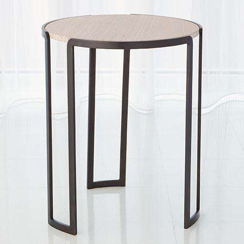 Buy Channel Accent Table-Bronze Online at best prices in Riyadh