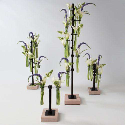 Threaded Flower Tubes-Lg