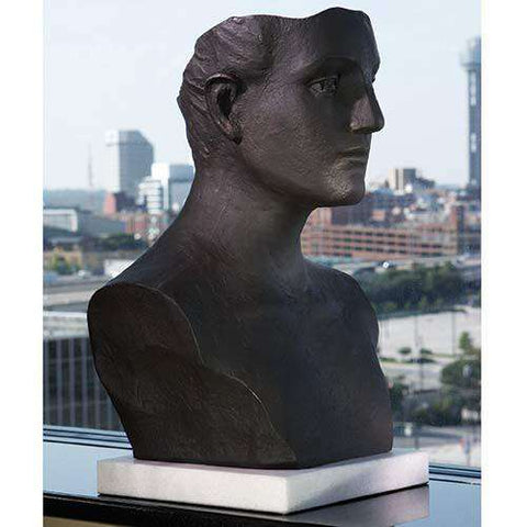 Head Sculpture-Cast Iron