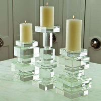 Brilliant Pillar Candle holder-Tall Candle holder