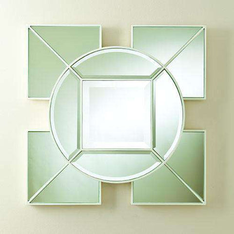 Buy Arabesque Square Mirror-White Online at best prices in Riyadh