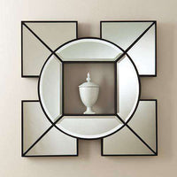 Arabesque Shadow Box Mirror-Black