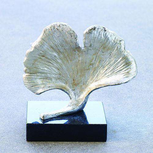 Buy Ginkgo Leaf Objet-Silver Online at best prices in Riyadh