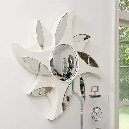 Buy Pinwheel Mirror-Ivory Online at best prices in Riyadh