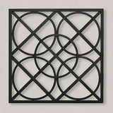 Layered Circles Wall Panel