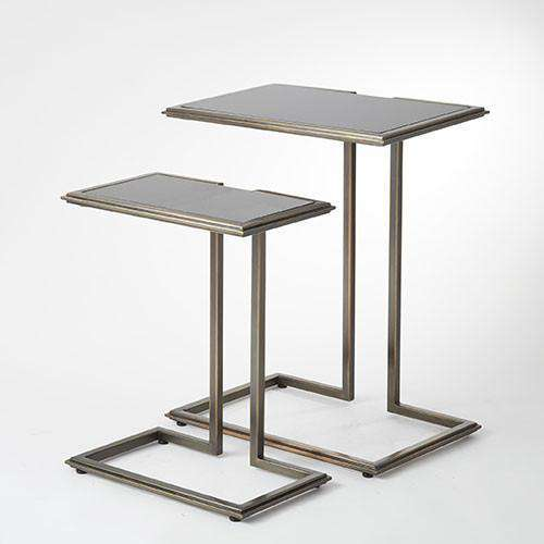 Buy Cozy Up Table-Bronze Finish Online at best prices in Riyadh