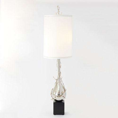 Buy Twig Bulb Floor Lamp-Nickel Online at best prices in Riyadh