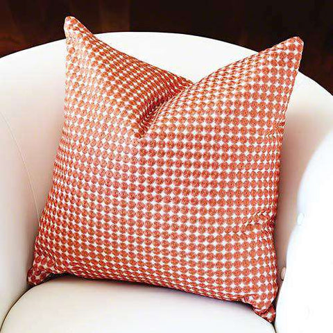 Daisy Pillow-Coral