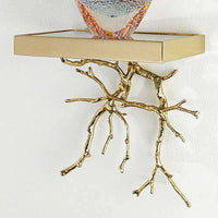 Twig Wall Bracket-Brass