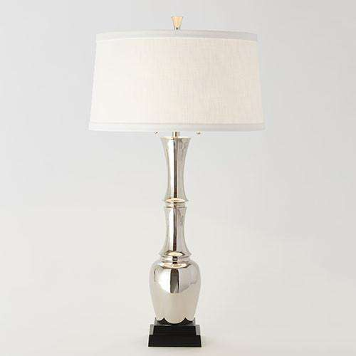Buy Bambooesque Lamp-Nickel Online at best prices in Riyadh