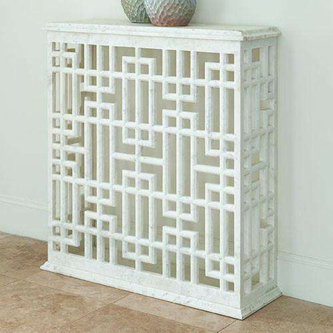 Buy Marble Gridblock Console Online at best prices in Riyadh