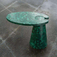Buy Cone Cantilever Table-Malachite Online at best prices in Riyadh