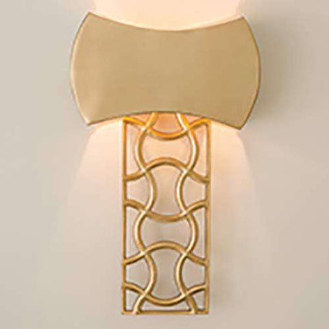 Axe Sconce-Brass