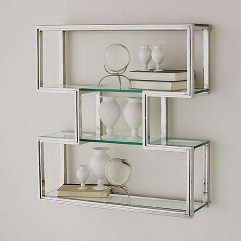 Buy One Up Wall Shelf-Stainless Steel Finish Online at best prices in Riyadh