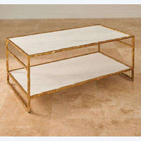 Buy Sculpted Cocktail Table-Gold Online at best prices in Riyadh