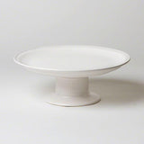 Polished Tazza in White