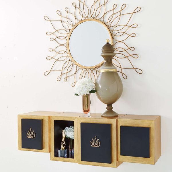 Lombardy Wall Cabinet-Crown-Sm