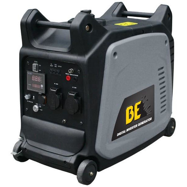 BE Mobile Compact Inverter Generator 3.5kVa Electric Start-Inverter Generator-Tool Factory