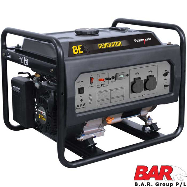 BE Deluxe Series Generator 3.8kVa-Powerease Generator-Tool Factory