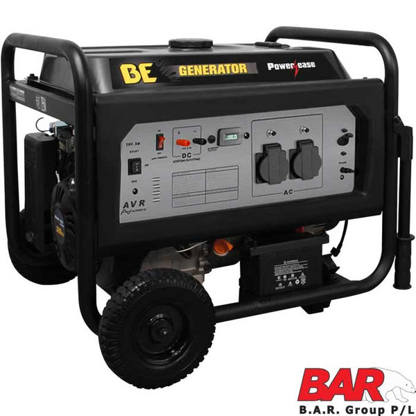 BE Deluxe Series Generator 6.8kVa Electric Start-Powerease Generator-Tool Factory