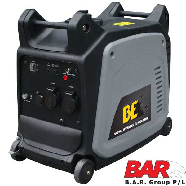 BE Mobile Compact Inverter Generator 3.5kVa Recoil Start-Inverter Generator-Tool Factory