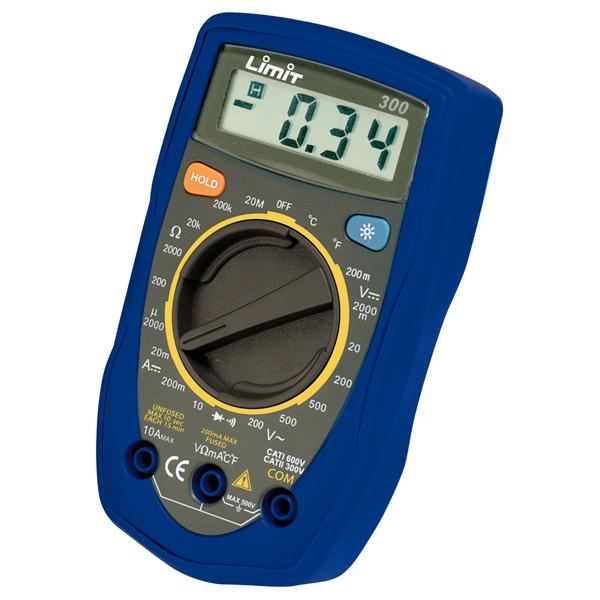 Limit Multimeter 300 (Cat Ii 300V) (Use Dm500)** | Multimeters
