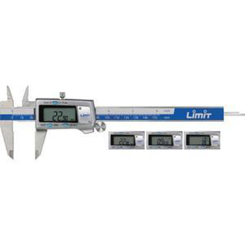 Limit 150Mm / 6In Triple Read Digital Caliper | Vernier Calipers - Digital Calipers-Measuring Tools-Tool Factory