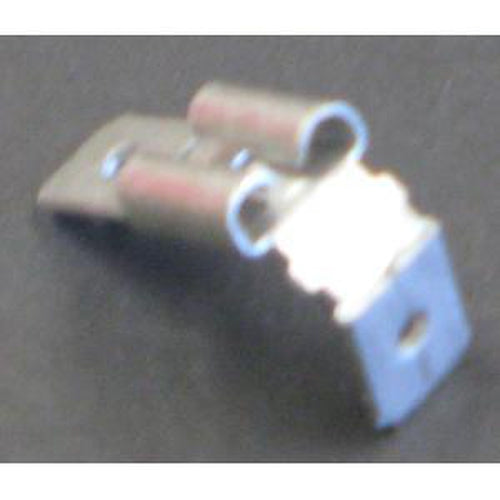 Champion Male Push - On 2 - Way Connector - 100Pk | Auto Crimp Terminals - Push-On